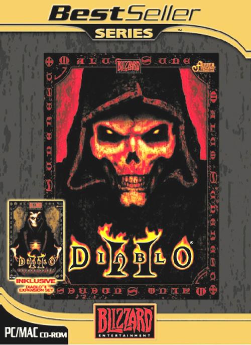 diablo ii diablo ii expansion set 4 cd roms gold. Black Bedroom Furniture Sets. Home Design Ideas