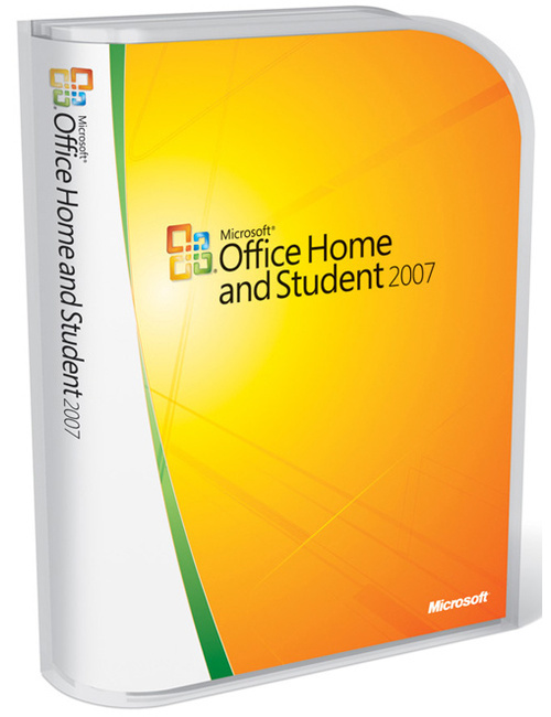 microsoft office home and student 2007 gebraucht kaufen 0882224166478. Black Bedroom Furniture Sets. Home Design Ideas