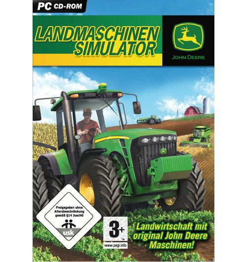 john deere landmaschinen simulator gebraucht kaufen. Black Bedroom Furniture Sets. Home Design Ideas